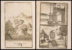 Joachim Dalencé - illustrations from Magnetologia Curiosa