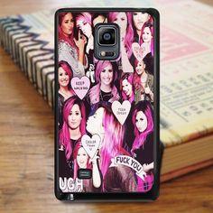 Demi Lovato Haircolor Collage Samsung Galaxy Note 5 Case