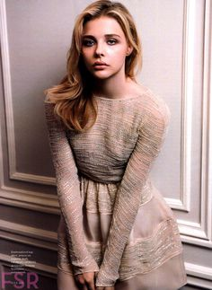 Chloe Moretz in Elle Magazine (US) – October 2014