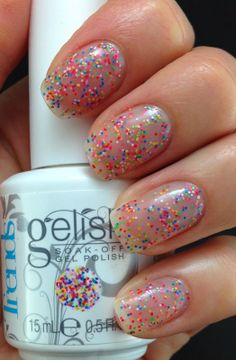 Gelish Trends Collection Party Girl Problems and Lots Of Dots #lslfunblog #gelish