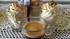 Crema fredda al caffè  https://youtu.be/gblV1gr1hF8 Nel link la video ricetta facile e veloce di grande effetto!! #cricucina