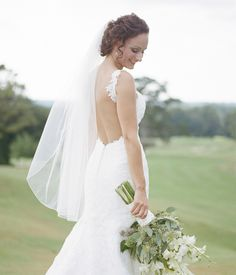 Bridal Portraits overlooking the golf course.