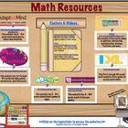 Math Websites & Resources