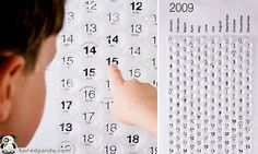 We had this bubble wrap calendar in our office a few years ago. Great sense of closure to pop a day!