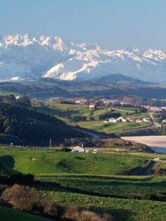 Cantabria: Parque Natural de Oyambre.  --- Cantabrie: Parc Naturel d´Oyambre. #Cantabria #Spain