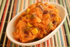 Spicy Mashed Sweet Potatoes Recipe