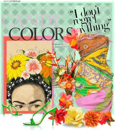 COLORFUL, created by arnetta on Polyvore