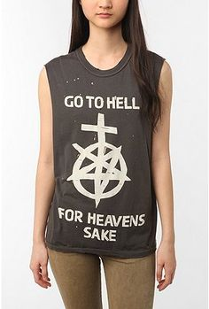 Go to hell for heavens sake shirt