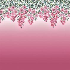 trailing rose - peony fabric | Designers Guild