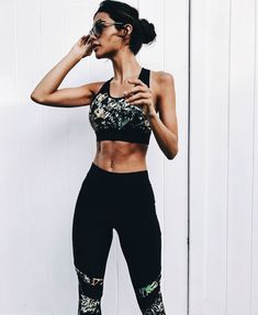 45 Stunning Sport Outfit Fitness For Womens - Trendfashioner Fashion 2017, Look Fashion, Fashion Outfits, Sport Fashion, Fashion Trends, Moda Fitness, Sport Outfits, Summer Outfits, Yoga Outfits