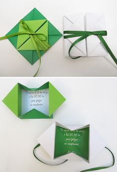 Origami envelopes... very cool. Site is in Spanish,  but translates well.