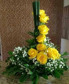 """Discover more information on """"long stem roses for cut flowers"""". Look at our website. Valentine Flower Arrangements, Flower Arrangement Designs, Unique Flower Arrangements, Unique Flowers, Exotic Flowers, Floral Centerpieces, Yellow Flowers, Beautiful Flowers, Tropical Flowers"""