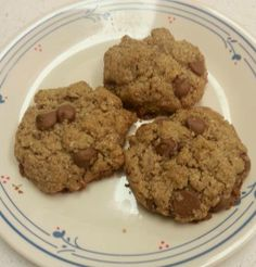 Nut Butter Chocolate Chip Cookies (gluten free!) - COOKING- Knitting, sewing, crochet, tutorials, children crafts, papercraft, jewlery, needlework, swaps, cooking and so much more on Craftster.org