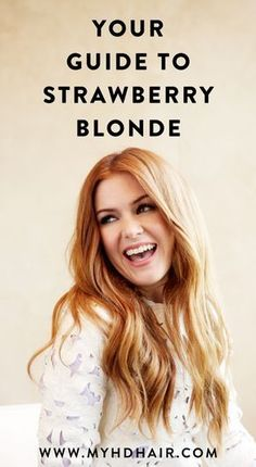 Strawberry Blonde knows who it suits and loves and it's not for everyone, so if you're lucky enough to be the chosen one — embrace it — hard with these 3 hues.