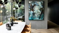 Furniture, Art, Object and Styling by Simone Haag. Photography by Derek Swalwell. Featured on The Design Files Luxury Dining Chair, Dining Furniture, Dining Rooms, Beautiful Interiors, Beautiful Homes, Home Developers, Interior Styling, Interior Design, Art Deco