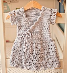 Now you can make Crochet Wrap Dress! New pattern available!