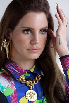 lana del rey | Lana Del Rey at the Versace Photoshoot in West Hollywood - HawtCelebs