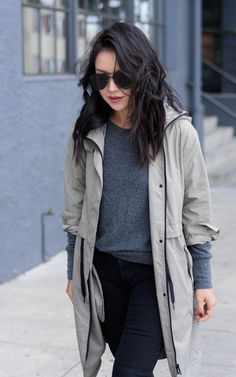 Weekend Casual; @everlane anorak, LNA Pullover