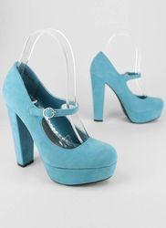 suede mary jane heels