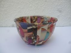 Papier mache bowls, 6 euros each and FREE POSTAGE at www.elseclectica.com