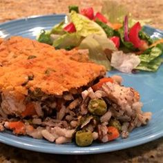This chicken and wild rice casserole has lots of veggies, and it appeals to even the pickiest eaters.