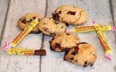"""Les cookies aux carambar de Béatrice du blog """"Cuisine en folie"""" inspirés du blog """"Chloé délices"""""""