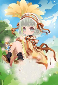 フキの下の小さなトモダチ|@games -アットゲームズ- Kawaii Chibi, Cute Chibi, Anime Chibi, Kawaii Anime, Anime Art, Design Comics, Chibi Characters, Chibi Girl, Cocoppa Play