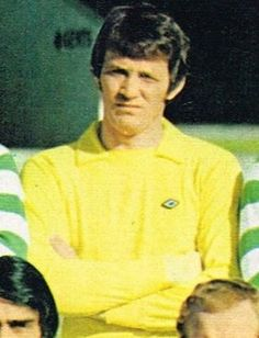 Evan Williams was the Celtic goalkeeper. He played in the 1970 Europa Cup final against Feyenoord. He played for Third Lanark, Wolves, Aston Villa, Celtic, Clyde and Stranraer. Williams also managed Vale of Leven.