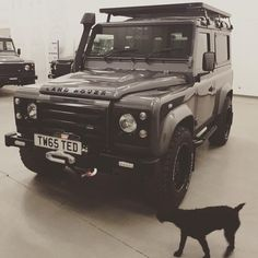 Ultimate detailing ft. our Twisted dog, Java! #TwistedDefender #Defender #LandRover #LandRoverDefender #Automotive #Yorkshire #4x4 #Lifestyle #Details #Handmade #Handcrafted #Patterdale #PatterdaleTerrier #Java #JavaBlack #Modified #Customised #ModernClassic #Iconic #Classic #Style #Spec #Snorkel #RoofRack #Winch #BFGoodrich #BestOfBritish