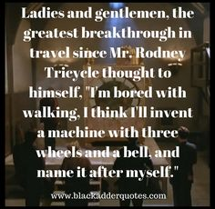 Best Blackadder Quotes Archives - Page 2 of 6 - Blackadder Quotes British Comedy Series, British Tv Comedies, Comedy Tv, Comedy Show, Lord Flashheart, Blackadder Quotes, Great Quotes, Me Quotes