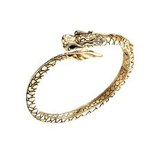 Wear the legend of the dragon in style with this @johnhardy Kick Cuff in 18K gold #JHxCara #vogueinfluencer