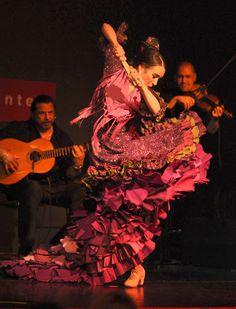 photo ... flamenco dancer ....Rebeca Tomás. Photo by Amor Montes de Oca.