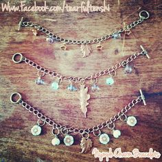 Nymph Charm Bracelets for Marie Curie Cancer Care by TearfulTenshi on Etsy