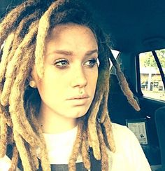 Thick locs- possibly my favorite so far and they are blunted!