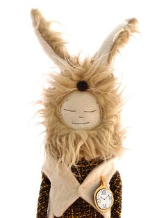 Wild Alice Rabbit by thecatintheshoe on Etsy, £29.00