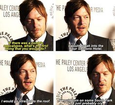 What would Norman Reedus do?