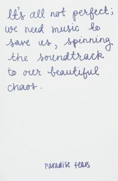 Love <3 paradise fears quote
