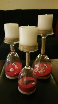 Check out this item in my Etsy shop https://www.etsy.com/listing/513133595/alabama-upside-down-wine-glass-candle