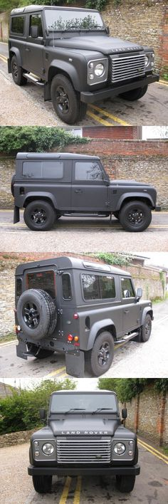 Land Rover Defender 90. that what they should go to making.: