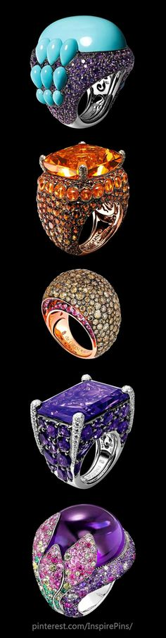 de Grisogono rings by susanna