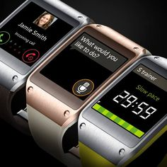 #Samsung #GalaxyGear Calls. Apps. Fitness coach. The Next Big Thing knows when to switch gears