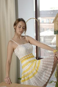 summer crochet dress pattern pdf and made to order by marifu6a, $3.99