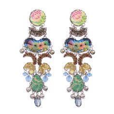 Ayala Bar Fiesta Green Brain Freeze Earrings, part of our full line of Ayala Bar jewelry and the Ayala Bar Spring 2020 collection. Jewelry Trends, Jewelry Accessories, Glasses For Your Face Shape, Ayala Bar, Bar Gifts, Artist Card, Celebrity Jewelry, Bar Earrings, Jewellery Display