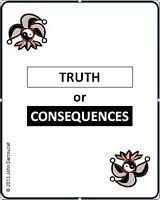 TRUTH OR CONSEQUENCES CARD DECK cover
