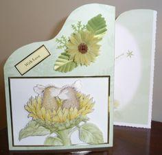 Wavy Tri-Fold Card by Shelia Weaver