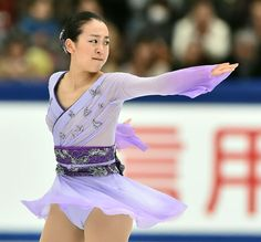 NHK Trophy 2015 || 浅田真央のフリープログラム=28日、ビッグハット (撮影・桐山弘太)