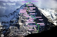 Eiger Nordwand - Heckmair-Route