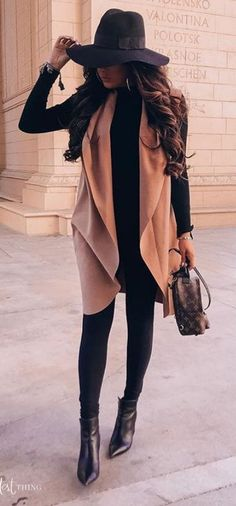 winter outfits for going out Lovely Fall Trave - winteroutfits Winter Outfits For Teen Girls, Cute Fall Outfits, Winter Fashion Outfits, Fall Winter Outfits, Classy Outfits, Autumn Winter Fashion, Casual Outfits, Winter Clothes, Cute Vegas Outfits
