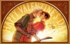 HPS - Harry Potter x Draco Malfoy - Drarry