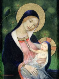 Madonna of the Fir Tree     Marianne Stokes